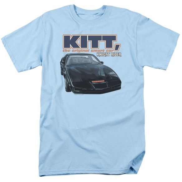 Knight Rider Original Smart Car Short Sleeve Adult Light T-Shirt