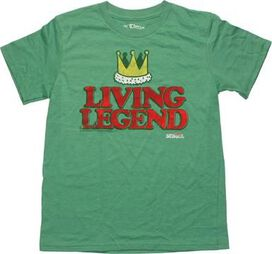 Old School Living Legends Youth T-Shirt Sheer