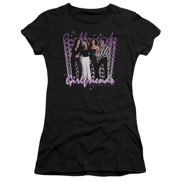 Girlfriends Girlfriends Short Sleeve Junior Sheer T-Shirt