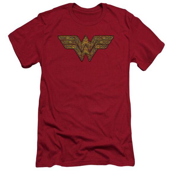 Wonder Woman Celtic Wonder Hbo Short Sleeve Adult T-Shirt