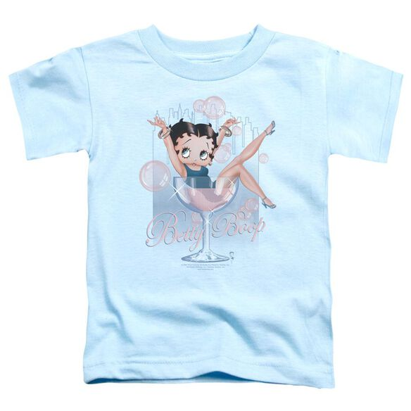 Betty Boop Pink Champagne Short Sleeve Toddler Tee Pink Sm T-Shirt