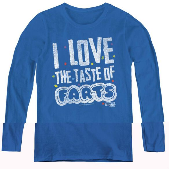 Farts Candy Tasty Farts-womens Long Sleeve