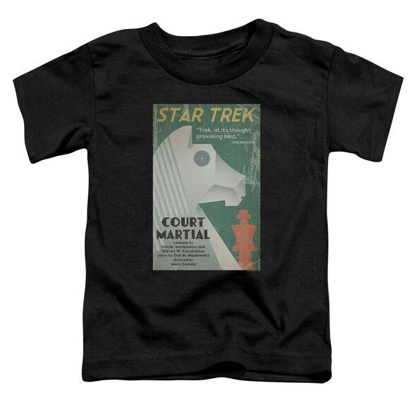 Star Trek Tos Episode 20 Short Sleeve Toddler Tee Black Md T-Shirt