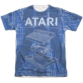 Atari Inside Out Adult Poly Cotton Short Sleeve Tee T-Shirt