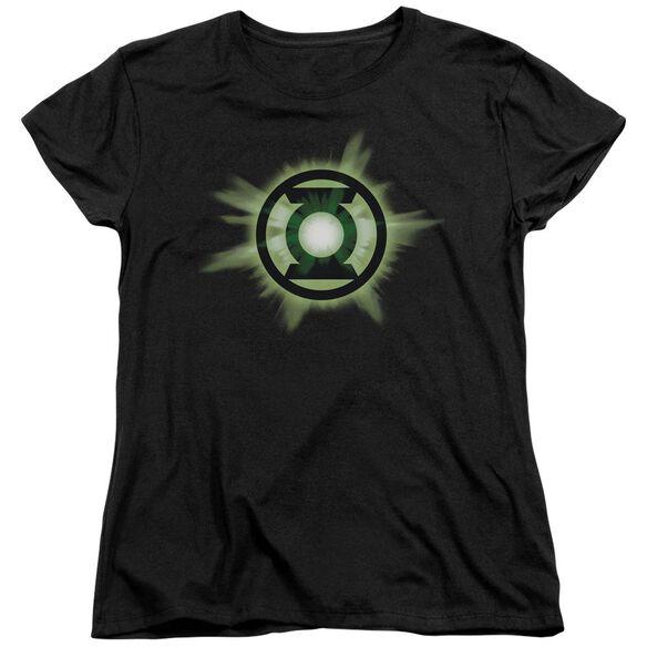 Green Lantern Green Glow Short Sleeve Womens Tee T-Shirt