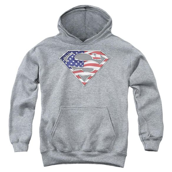 Superman All Youth Pull Over Hoodie