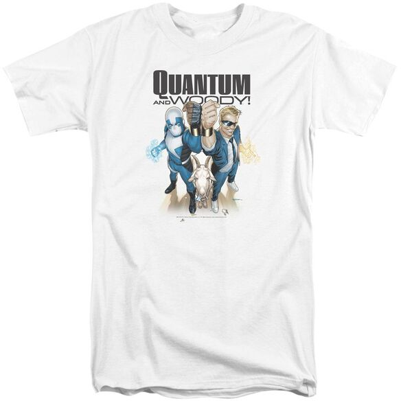 Quantum And Woody Quantum And Woody Short Sleeve Adult Tall T-Shirt