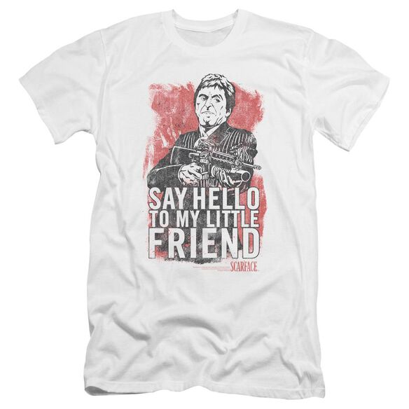 Scarface Little Friend Premuim Canvas Adult Slim Fit