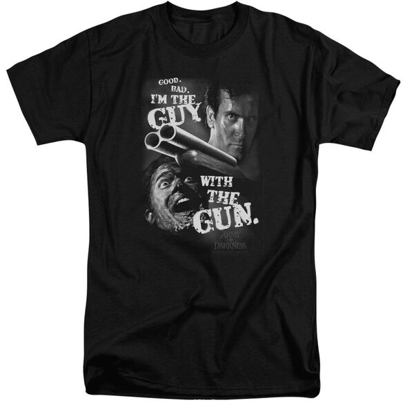 Army Of Darkness Guy With The Gun Short Sleeve Adult Tall T-Shirt