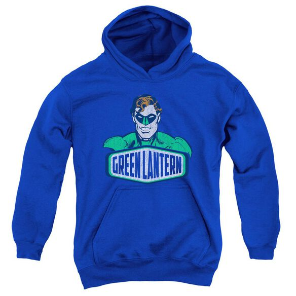 Dco Green Lantern Sign Youth Pull Over Hoodie