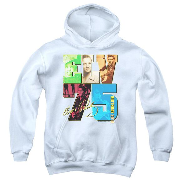 Elvis Birthday 2010 Youth Pull Over Hoodie