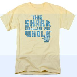 JAW WALLOW YOU WHOLE - S/S ADULT 18/1 - BANANA T-Shirt