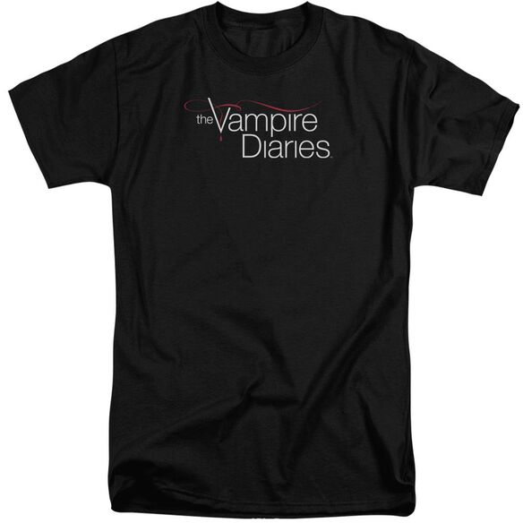 Vampire Diaries Tvd Logo Short Sleeve Adult Tall T-Shirt