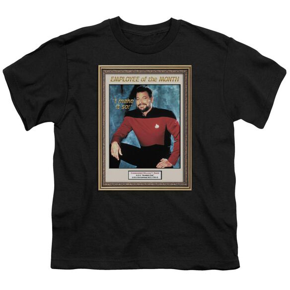 Star Trek Employee Of Month Short Sleeve Youth T-Shirt