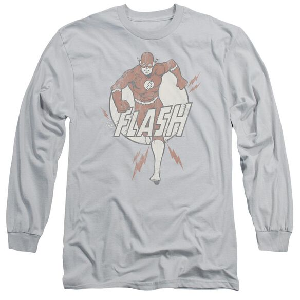 Dc Lightning Fast Long Sleeve Adult T-Shirt