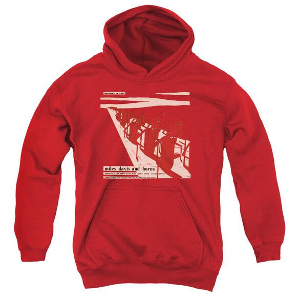 Miles Davis Davis And Horn Youth Pull Over Hoodie