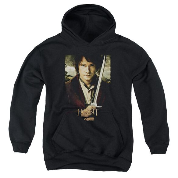 The Hobbit Baggins Poster Youth Pull Over Hoodie
