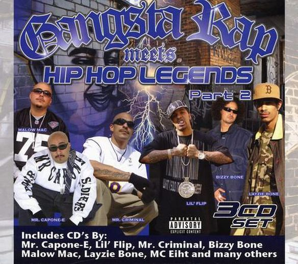 Gangsta Rap Meets Hip Hop Legends 2 / Various