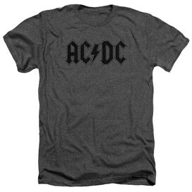Acdc Worn Logo Adult Heather
