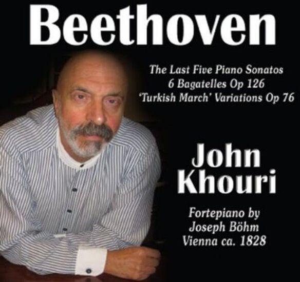 Beethoven 5 Last Piano Sonatas (Cdrp)