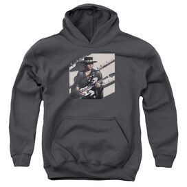 Stevie Ray Vaughan Texas Flood Youth Pull Over Hoodie