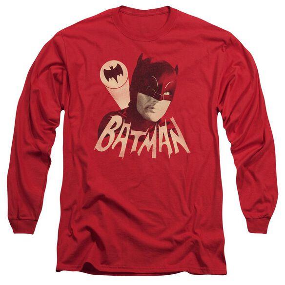 BATMAN CLASSIC TV BAT SIGNAL-L/S T-Shirt