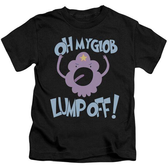 Adventure Time Lump Off Short Sleeve Juvenile Black T-Shirt
