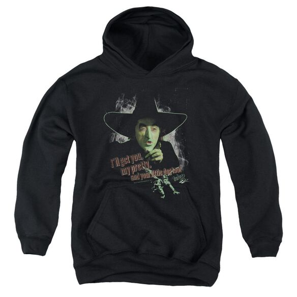 Wizard Of Oz And Your Little Dog Too Youth Pull Over Hoodie