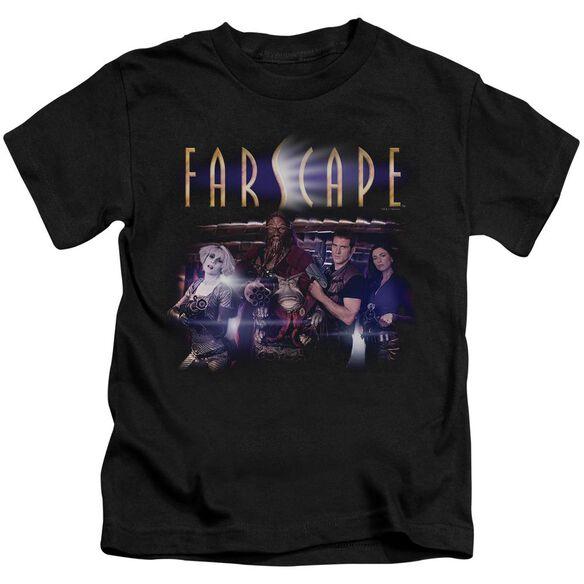 FARSCAPE FLARESCAPE - S/S JUVENILE 18/1 - BLACK - T-Shirt