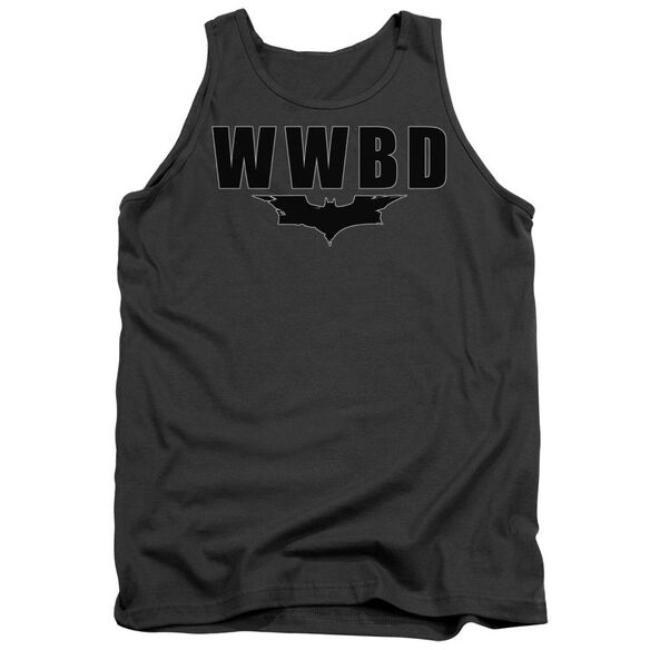 Dark Knight Wwbd Logo Adult Tank