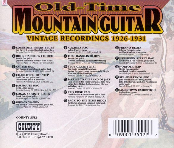 Old Time Mountain Guit598