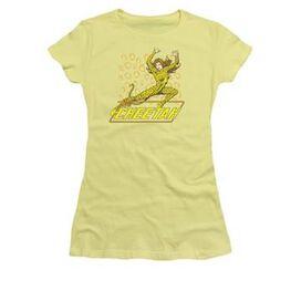 Cheetah Over Name Juniors T-Shirt