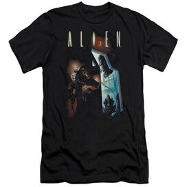 ALIEN AROUND THE CORNER-S/S T-Shirt