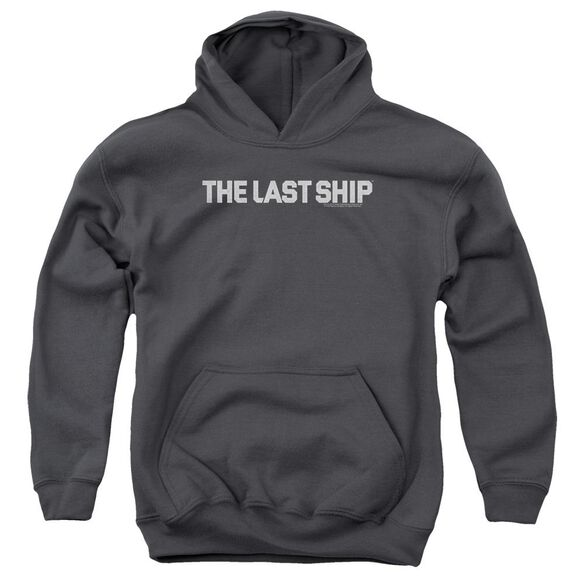 Last Ship Distressed Logo Youth Pull Over Hoodie