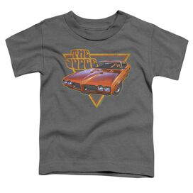 Pontiac Judged Short Sleeve Toddler Tee Charcoal T-Shirt