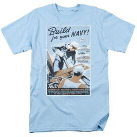 Navy Build Your Navy Short Sleeve Adult Light T-Shirt