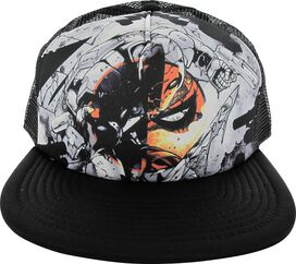 Deathstroke Logo Sketch Trucker Hat