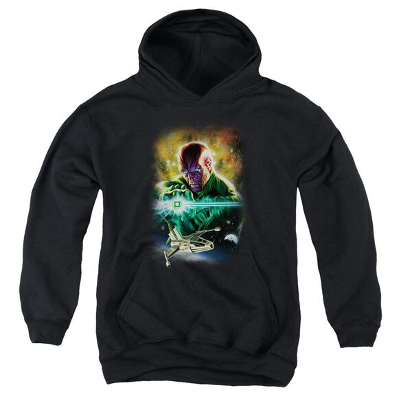 Jla(Gl) Abin Sur Youth Pull Over Hoodie