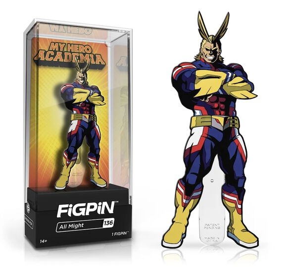 My Hero Academia All Might FiGPiN