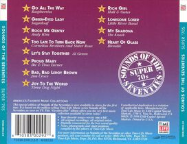 Various Artists - Sounds of the Seventies: Super 70's