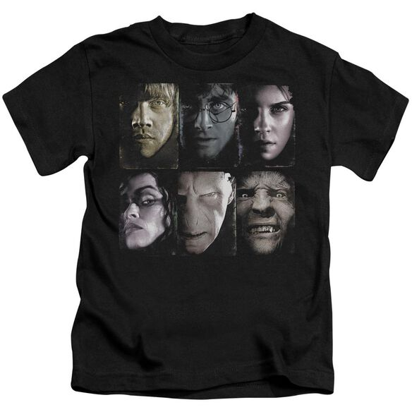 Harry Potter Horizontal Heads Short Sleeve Juvenile T-Shirt