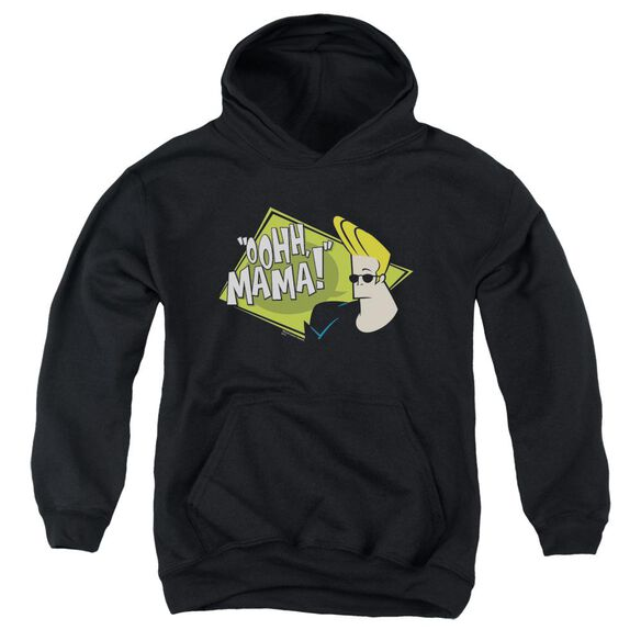 Johnny Bravo Oohh Mama Youth Pull Over Hoodie