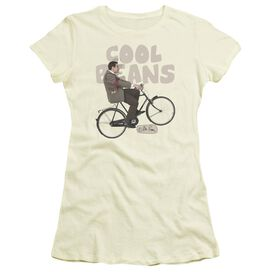 Mr Bean Cool Beans Short Sleeve Junior Sheer T-Shirt