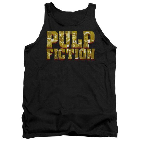 Pulp Fiction Pulp Logo Adult Tank