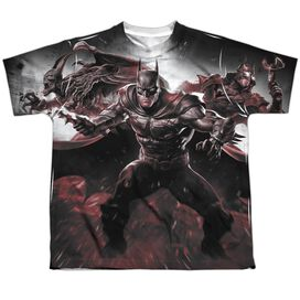 Infinite Crisis Ic Batman Short Sleeve Youth Poly Crew T-Shirt