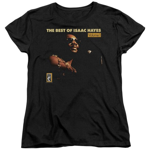 Isaac Hayes Chain Vest Short Sleeve Womens Tee T-Shirt
