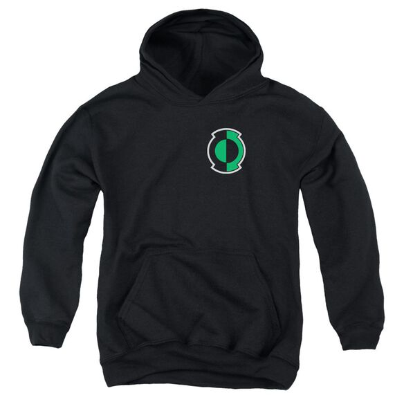 Green Lantern Kyle Logo Youth Pull Over Hoodie