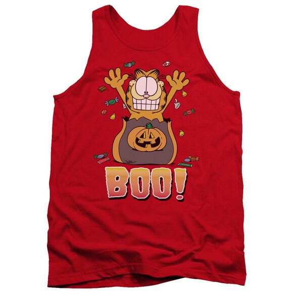 Garfield Boo! - Adult Tank - Red