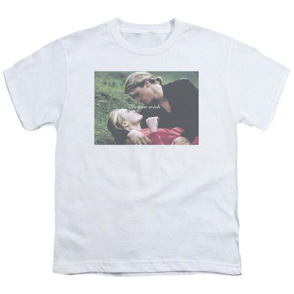 Princess Bride As You Wish Short Sleeve Youth T-Shirt