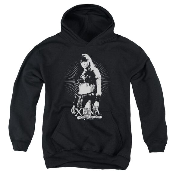 Xena Dont Mess With Me Youth Pull Over Hoodie